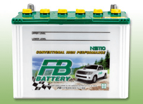 FB BATTERY NS40L