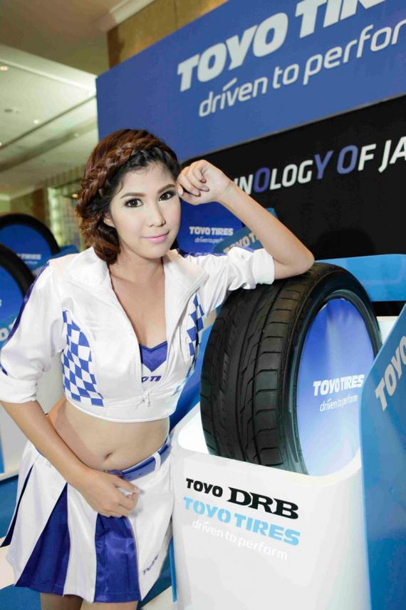 TOYO DRB 1 TOYO TIRES เปิดตัวยางสปอร์ตสมรรถนะสูง Proxes T1 Sport, Proxes ST2, Proxes C1S, Proxes T1R , TOYO DRB