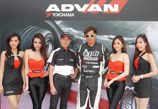 "YOKOHAMA SUPPORT D1 Race1 YOKOHAMA ปลื้มกลยุทธ์ ""Motorsport Marketing"""