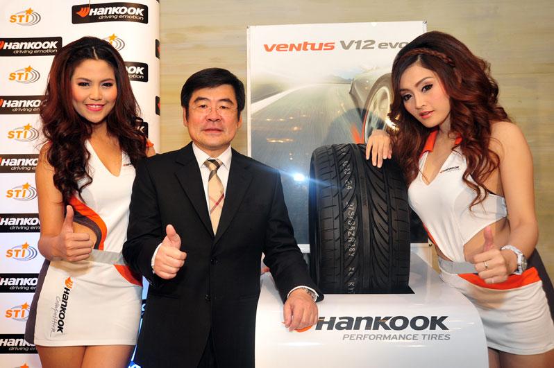 hankook ventus vantra 01 Hankook ทุ่ม 50 ล้านบาทส่งยางรถยนต์ 3 รุ่นใหม่สู้ศึกยาง หวังดันยอดปลายปีโตอีก 50%