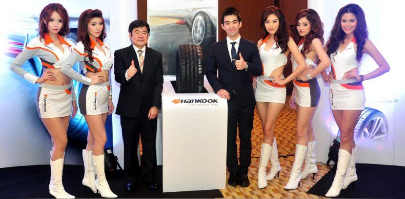 Hankook ทุ่ม 50 ล้านบาทส่งยางรถยนต์ 3 รุ่นใหม่สู้ศึกยาง หวังดันยอดปลายปีโตอีก 50%