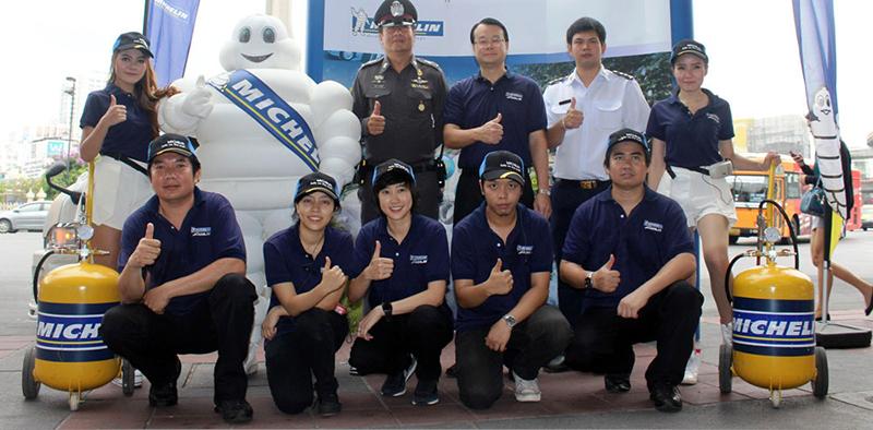 Michelin รณรงค์ขับขี่ปลอดภัยรถตู้โดยสาร