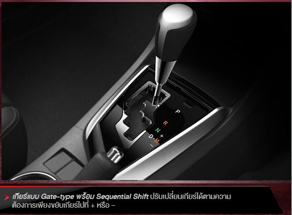 Toyota Altis Esport 2014 โปรโมชั่น ผ่อนเริ่มต้น 10,854 บาท ดาวน์ 25%