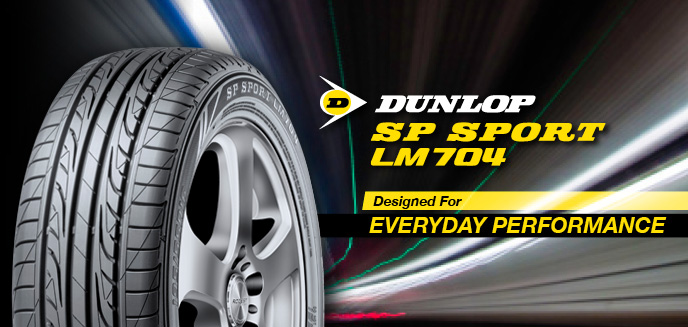 [Review] DUNLOP SP SPORT LM 704