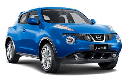 Nissan Juke blue Nissan Juke ผ่อนเริ่มต้น 8,000 บาทกับ นิสสัน จู๊ค