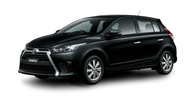 Toyota New Yaris 2014 black Toyota New Yaris 2014 ราคา โปรโมชั่น ตารางผ่อน ผ่อนเริ่มต้น 5,700 บาท