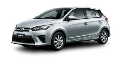 Toyota New Yaris 2014 silver blue metalic Toyota New Yaris 2014 ราคา โปรโมชั่น ตารางผ่อน ผ่อนเริ่มต้น 5,700 บาท