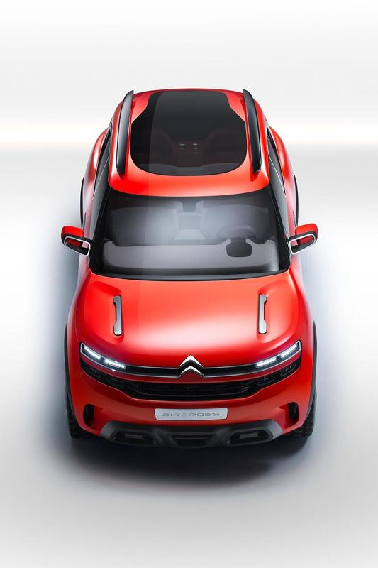 2015 559845 citroen aircross concept 2 Citroen Aircross concept crossover