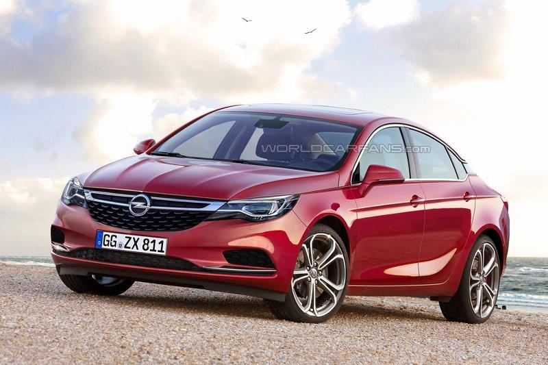 2015 6080972017 opel insignia render 2017 Opel Insignia เทอร์โบคู่ดีเซล
