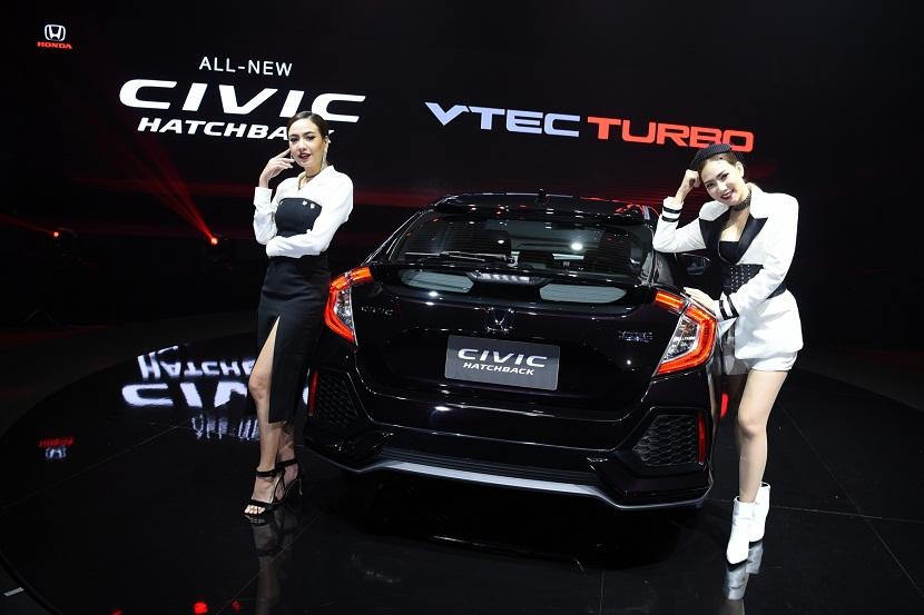 All New Honda Civic Hatchback 5 เปิดตัว Honda All New Civic Hatchback Turbo ราคา 1,169,000 บาท
