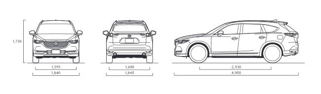 All New MAZDA CX8 2020 ราคา ตารางผ่อน ผ่อนเริ่มต้น 16,000 บาท