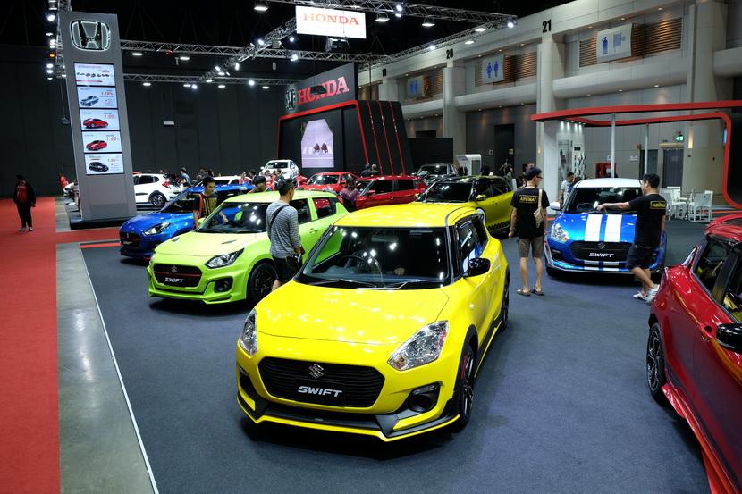 พาทัวร์ Bangkok International Auto Salon 2018