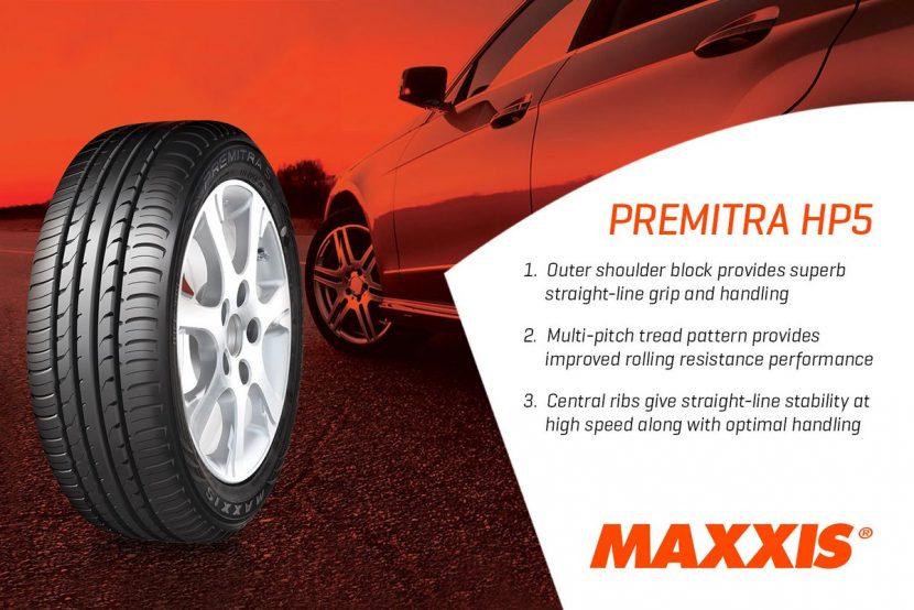 Maxxis Premitra HP5 สมรรถนะอัดแน่นเหนือราคา