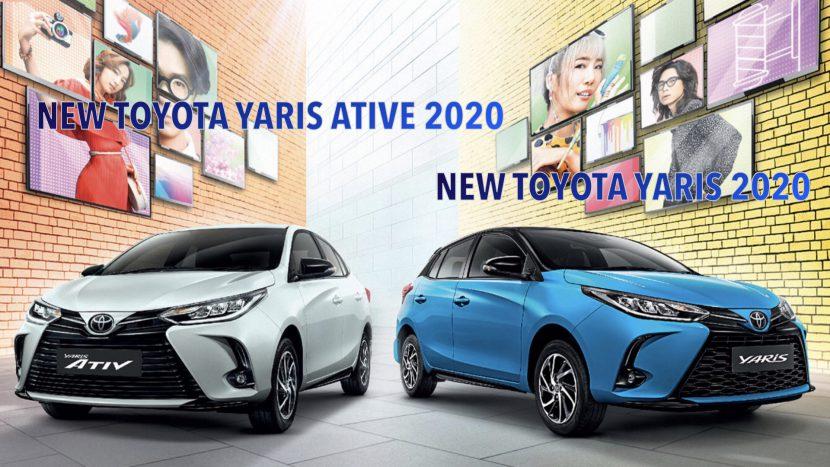 TOYOTA YARIS 2020, TOYOTA YARIS ATIV 2020 ออกรถ 0 บาท ผ่อน 7,890 บาท