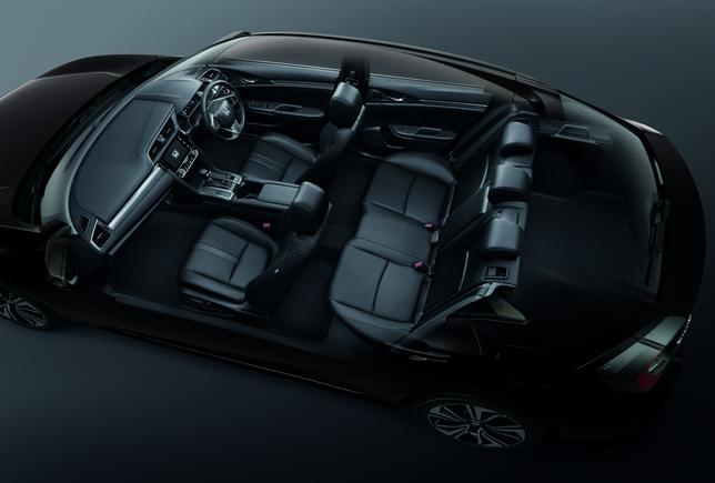 Civic Hatchback Interior 1 เปิดตัว Honda All New Civic Hatchback Turbo ราคา 1,169,000 บาท