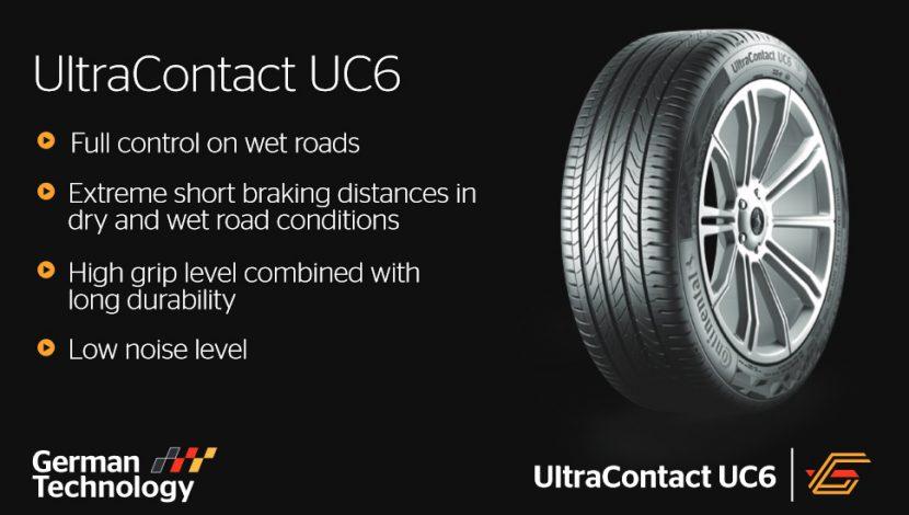 Continental UltraContact UC6 ดีเลิศดั่งเพชรพลอย