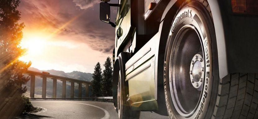 การพัฒนายางเพื่อธุรกิจขนส่งของ Continental