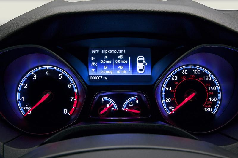 Focus RS speedo