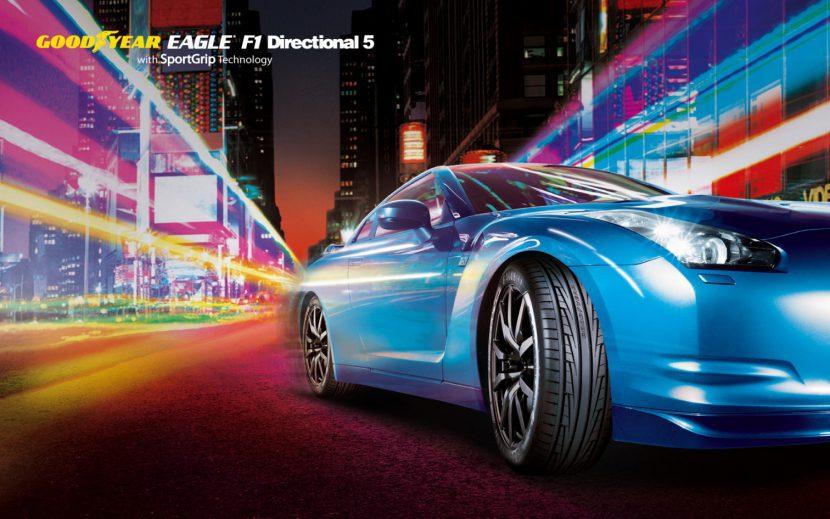 GOODYEAR EAGLE F1 Directional 5 หัวใจคือสมรรถนะ