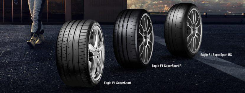 เรทความสปอร์ตแบบ Goodyear Eagle F1 SuperSport
