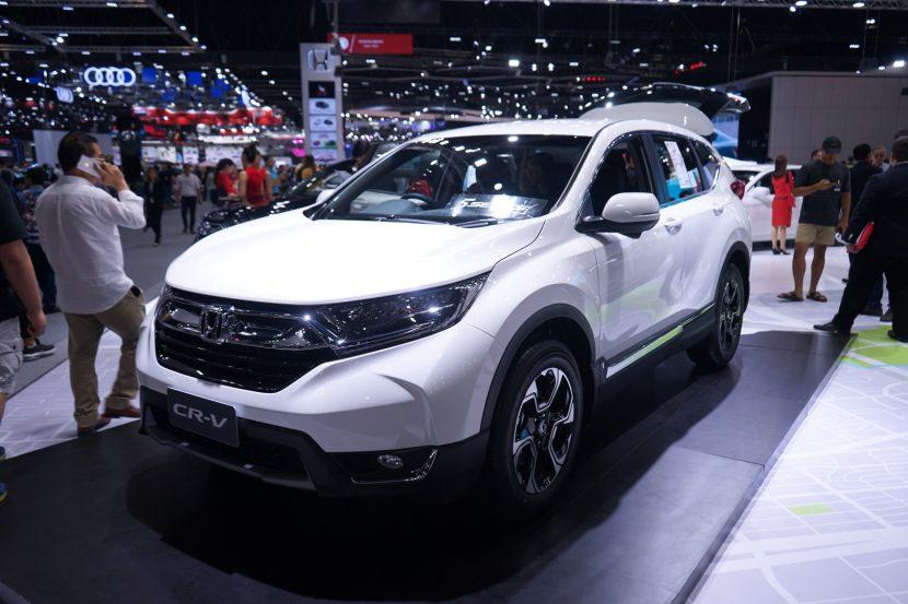 พาชม Honda CRV งาน Motor Expo 2018