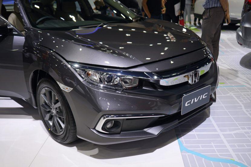 Honda Civic 1 พาชม Honda Civic งาน Motor Expo 2018