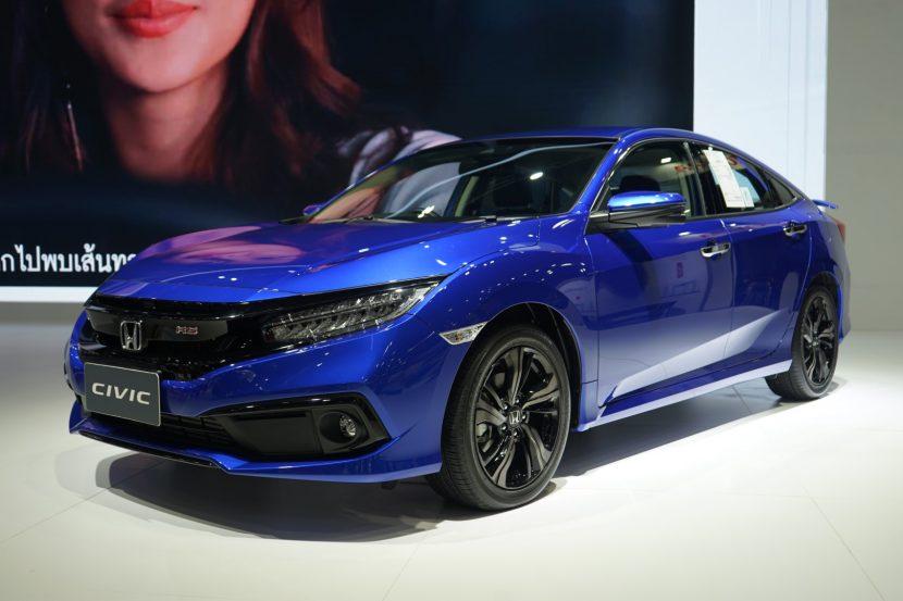 Honda Civic 20 พาชม Honda Civic งาน Motor Expo 2018