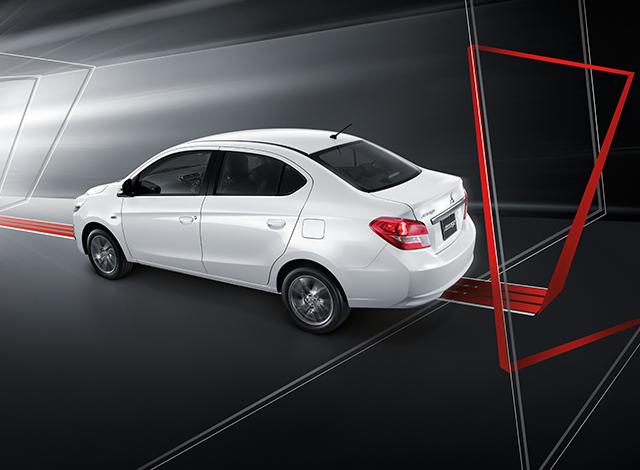 Mitsubishi Attrage มิตซูบิชิ แอททราจ 2018 14 Mitsubishi Attrage   มิตซูบิชิ แอททราจ 2018 ราคาและโปรโมชั่นดอกเบี้ย 0%