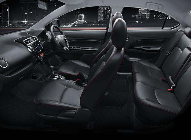 Mitsubishi Attrage มิตซูบิชิ แอททราจ 2018 7 Mitsubishi Attrage   มิตซูบิชิ แอททราจ 2018 ราคาและโปรโมชั่นดอกเบี้ย 0%
