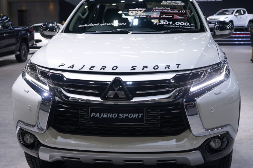 Mitsubishi Pajero Sport 1 พาชม All New Mitsubishi Pajero Sport งาน Motor Expo 2018
