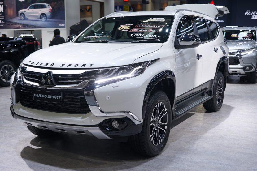 Mitsubishi Pajero Sport 2 พาชม All New Mitsubishi Pajero Sport งาน Motor Expo 2018