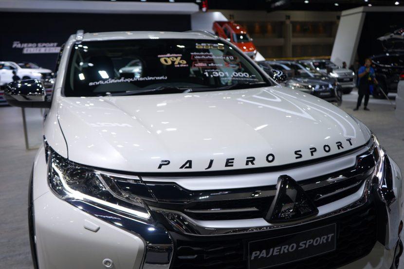 Mitsubishi Pajero Sport 27 พาชม All New Mitsubishi Pajero Sport งาน Motor Expo 2018