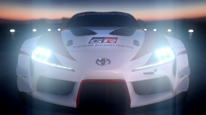 Toyota Supra 2018 GR Racing concept ขุมพลัง 330 แรงม้า