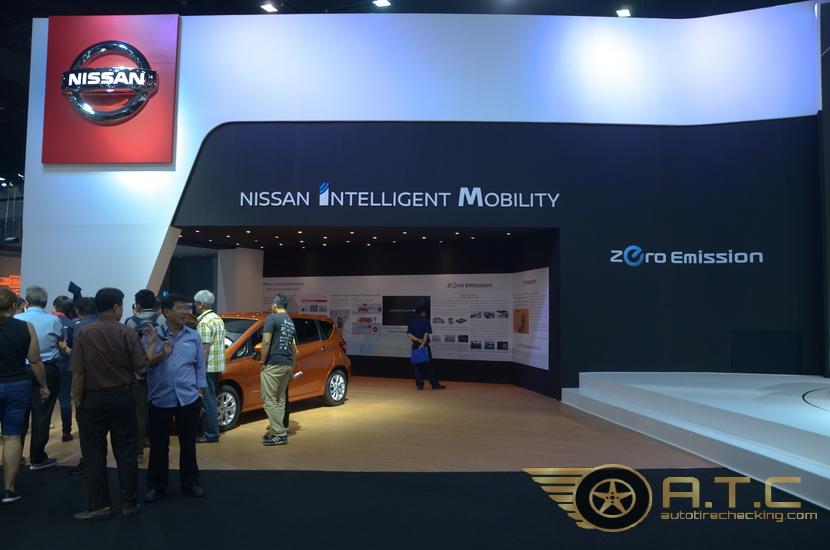 NISSAN MOTOR EXPO 2017 กับการเป็นผู้นำกระแสยานยนต์ไฟฟ้า