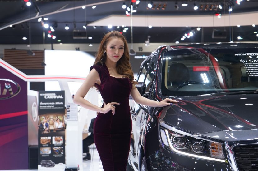 พาชมพริตตี้ Motor Expo 2018