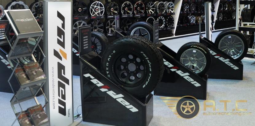 ส่องยางเพลิน ๆ ในงาน MOTOR EXPO 2017