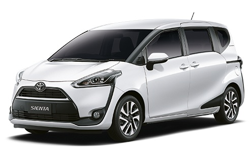 Sienta ขาว Toyota Sienta โปรโมชั่น ตารางผ่อน เริ่มต้น 9,833 บาท