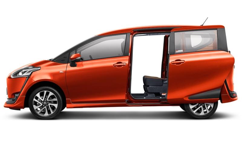 Sienta ข้าง Toyota Sienta โปรโมชั่น ตารางผ่อน เริ่มต้น 9,833 บาท