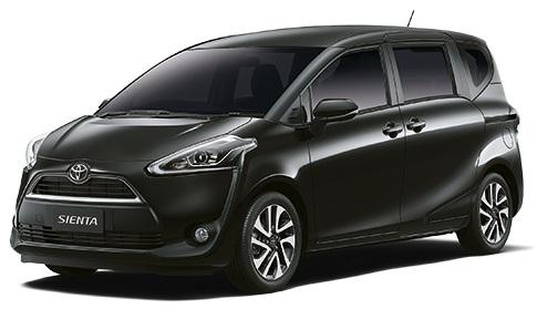 Sienta ดำ Toyota Sienta โปรโมชั่น ตารางผ่อน เริ่มต้น 9,833 บาท