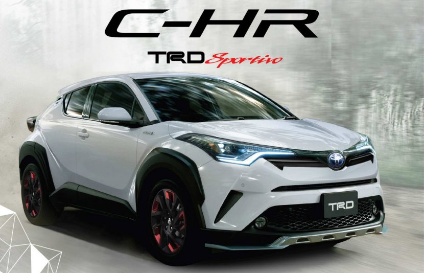 toyota chr trd sportivo official. Black Bedroom Furniture Sets. Home Design Ideas
