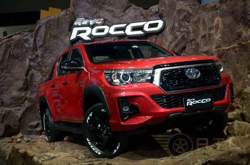 TOYOTA CHR 2018 พร้อม REVO ROCCO 2018 เปิดตัวใน MOTOR EXPO 2017