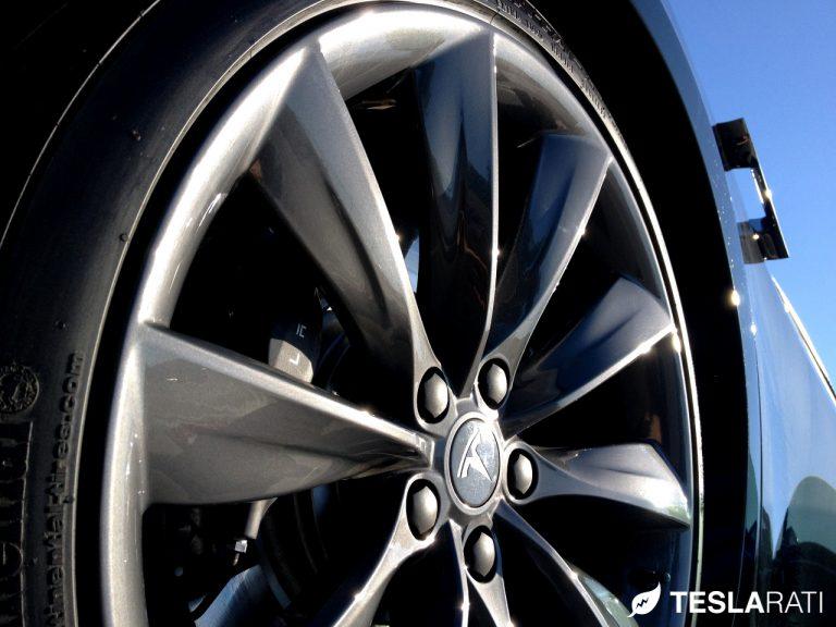 Tesla Model S Tire Wheel 768x576 เทคโนโลยีการลดเสียงรบกวนจาก Continental