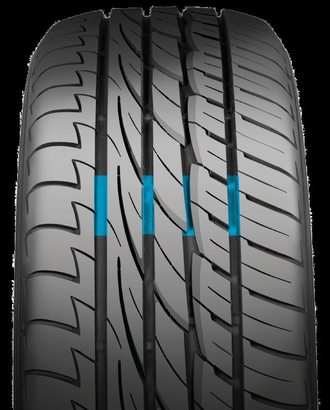 Tire10w650d NITTO NT850+ Premium CS ยางรถตู้ระดับพรีเมี่ยม