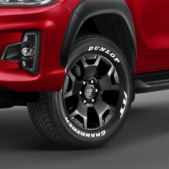 Toyota Hilux Revo Rocco tyre TOYOTA HILUX REVO ROCCO 2018 ราคา ตารางผ่อนและโปรโมชั่น