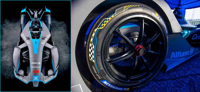 Michelin โชว์ตัวยาง Formula E ในงาน 2018 Geneva Motor Show