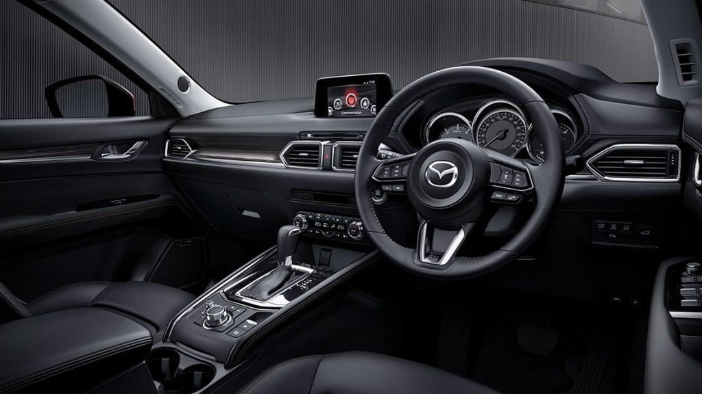 all new cx 5 2017 interior 1 1024x576 MAZDA CX 5 2018 ราคา โปรโมชั่นตารางผ่อนพร้อมข้อเสนอพิเศษ