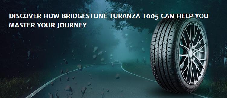 BRIDGESTONE Turanza T005 Preview สุดยอดยางเกาะถนนบนพื้นเปียก