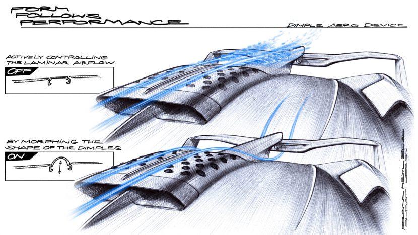 Air Scoop ผสมผสานการออกแบบอากาศพลศาสตร์จากลายลูกกอล์ฟ