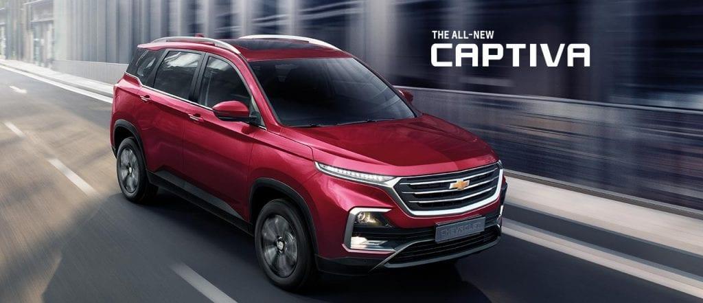 All New Chevrolet Captiva 2019   2020 ใหม่ ราคาโปรโมชั่นตารางผ่อน