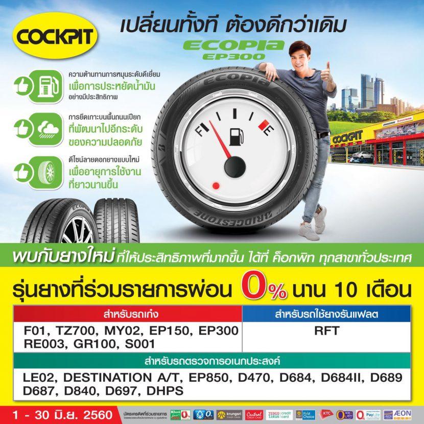 [Promotion] โปรโมชั่น COCKPIT ประจำเดือน มิถุนายน 2560